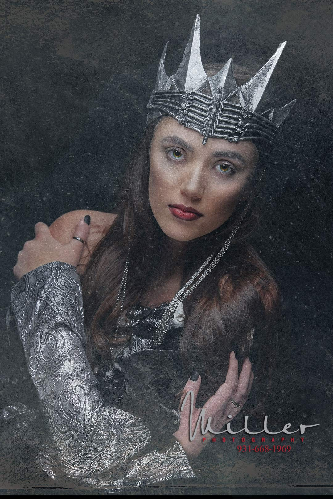 Senior Model Brooke as the Dark Queen