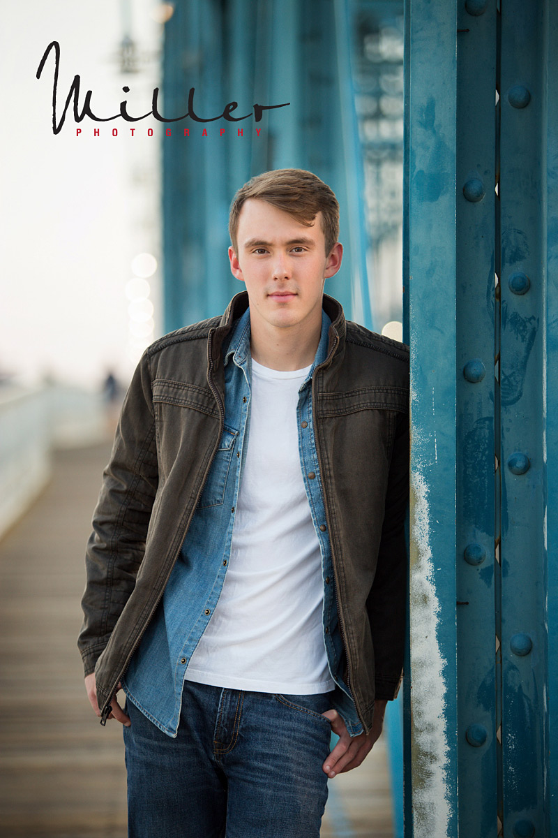 Rylan Looking sharp Senior Photos on location